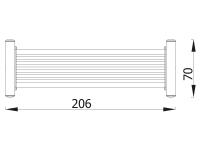 Metalinis suoliukas zy003