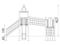 Metalinė žaidimų aikštelė J8003
