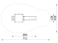 Metalinė žaidimų aikštelė J8113