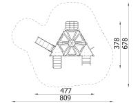 Metalinė žaidimų aikštelė J8115