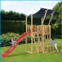 Vaikų žaidimų aikštelės. Mezanine bokštas
