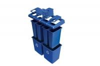 Rūšiavimo šiukšlių dėžės.Talpa 348 L. Kodas 3709