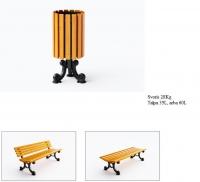 Šiukšlių dėžė su pelenine JMT0204