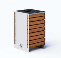 Šiukšlių dėžė su pelenine ir užraktu JMT0246