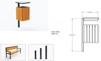 Šiukšlių dėžė su pelenine JMT0209
