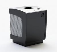 Šiukšlių dėžė su pelenine ir užraktu JMT0228