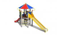 """Vaikų žaidimų aikštelė """"Pilies bokštas 04MP"""""""