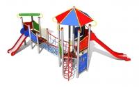 """Vaikų žaidimų aikštelė """"Pilies bokštas 09MP"""""""