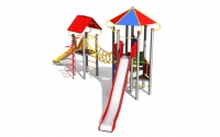 """Vaikų žaidimų aikštelė """"Pilies bokštas 10MP"""""""