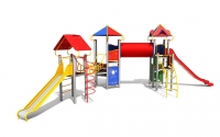 """Vaikų žaidimų aikštelė """"Pilies bokštas 14MP"""""""