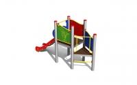 """Vaikų žaidimų aikštelė """"Platforma02 MP"""""""
