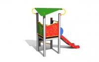 """Vaikų žaidimų aikštelė """"Bokštas02MP"""""""