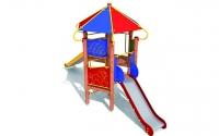 """Vaikų žaidimų aikštelės. """"Pilies bokštas 04"""""""