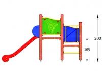 """Vaikų žaidimų aikštelės. """"Platforma02"""""""