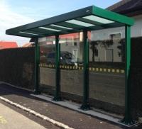 Viešojo transporto, autobusų stotelės. CNT