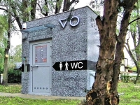 """Automatinis lauko tualetas """"Pilkas akmuo"""""""