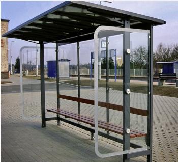 Viešojo transporto, autobusų stotelės. Gintaras